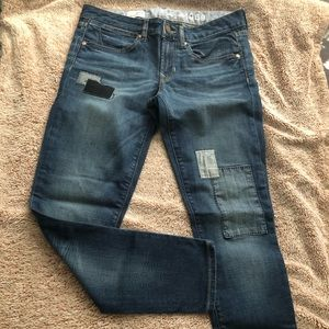 Cute Gap jeans with patch 👖